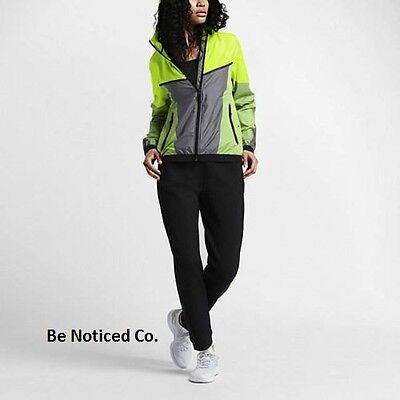 ab543a9e03 Nike NikeLab X Kim Jones Windrunner Women's Jacket S Volt Gray Yellow  Rainwear