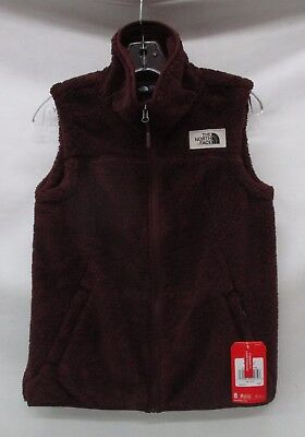North Face Womens Campshire Vest A39NP Sequoia Red Medium