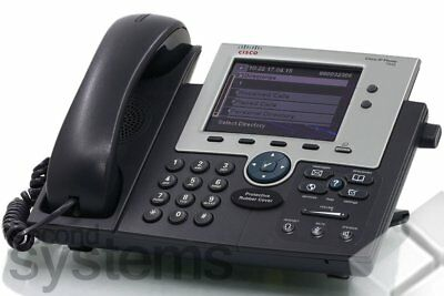 Cisco Unified IP Phone 7945 / CP-7945G VoIP-Telefon Gigabit-Ethernet Farbdisplay