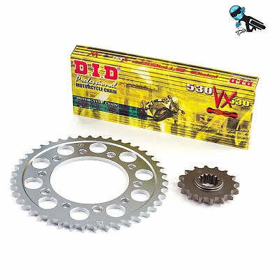 DID Chain and Sprocket Kit Suzuki GT550 A,B 76-77