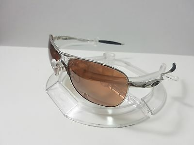 cc9baf75a5 OAKLEY CROSSHAIR 4060 Chrome w VR28 Black Iridium Sunglasses - EUR ...