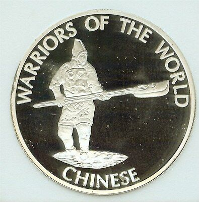 Warriors Of The World 2010 10 Francs - Chinese - Perfect Proof Dcam
