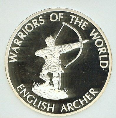 Warriors Of The World 2010 10 Francs - English Archer - Perfect Proof Dcam