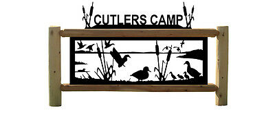 Personalized Duck Signs - Waterfowl - Ducks Unlimited - Wood Signs