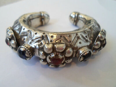 X-Mas Gift,absolutely Stunning Museum Quality Viking Silver Gilt Bracelet With.