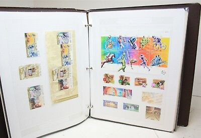 Mixed Lot of Vintage International Worldwide Stamps(One Notebook)