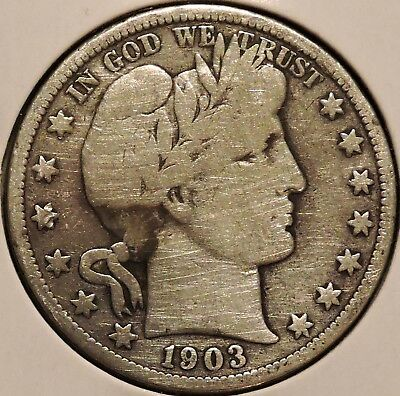 Barber Half - 1903-O - Historic Silver! - $1 Unlimited Shipping