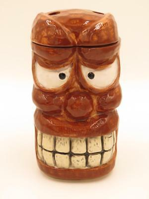 "Genuine OMC ""Otagiri"" Japan Vintage Stockton Islander ""Smiley"" Lidded Tiki Mug 1"