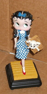 """2001 6"""" Betty Boop as Dorothy Wizard of OZ Figurine statue"""