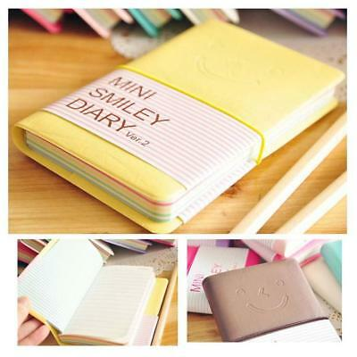 Leather Portable Notebook Pocket Diary Memo Notepad Journal Planner Note Pad New