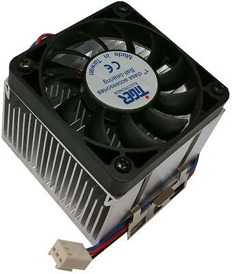 Tiger CPU Cooler/Heatsink+FAN for Intel Socket 370 and AMD Socket A 80mm Cooling