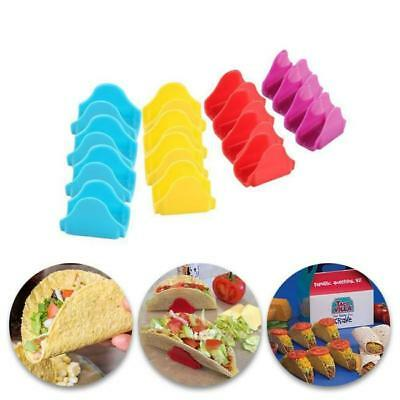 12pc/set Fiesta Pack Taco Holders Rack Stands Mexican Food Kitchen BS