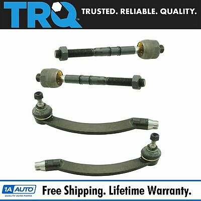 Front Inner & Outer Tie Rod Assembly End Kit Set of 4 for 03-08 Mini Cooper New