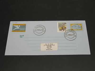 South West Africa 1977 aerogramme to UK *31747