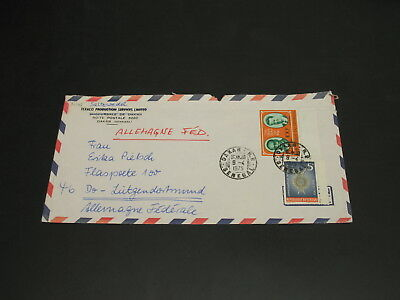 Senegal 1975 airmail cover to Germany *32143