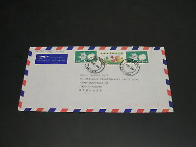 Tanzania 1994 airmail cover to Germany *32033