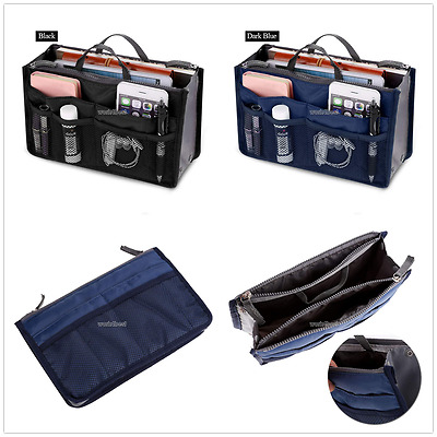 Multi-pockets Cosmetic Barrel Wash Bag Travel Camping Toiletry Organizer