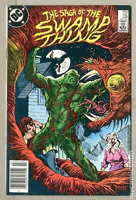 Swamp Thing (2nd Series) Mark Jewelers #26MJ 1984 VG 4.0 Low Grade