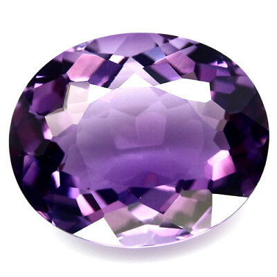 13.27 Ct Aaa! Purple Clr Change To Pink Brazilian Amethyst Oval