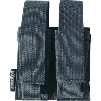 Viper Double Pistol Unisex Pouch Mag - Black One Size