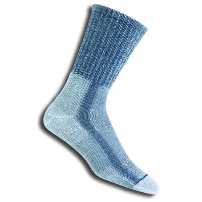 Thorlo Light Hiking Crew Womens Underwear Walking Socks - Slate Blue All Sizes