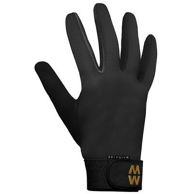 Macwet Climatec Long Cuff Unisex Gloves Everyday Riding Glove - Black All Sizes
