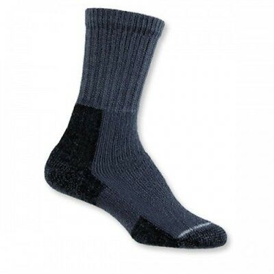 Thorlo Hiking Crew Womens Underwear Walking Socks - Slate Blue All Sizes