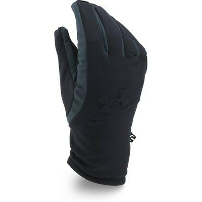 Under Armour Coldgear Infrared Softshell Mens Gloves - Black All Sizes