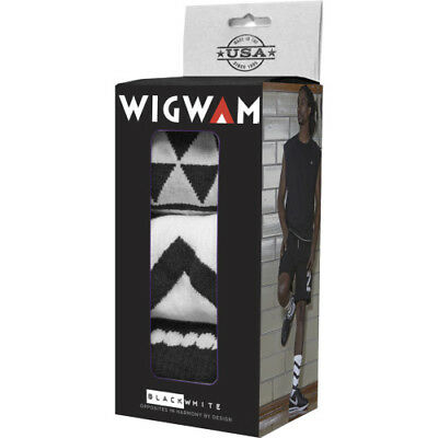 Wigwam Black And White Collection Holiday Gift Box Unisex Underwear Walking