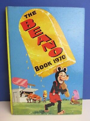 VGC vintage 1970 BEANO COMIC ANNUAL BOOK HARDBACK not clipped no writing 81A