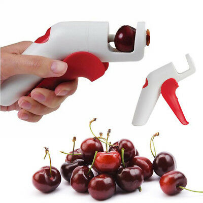 New  Home Plastic Cherry Core Nuclear Pitter Fruit Seed Remover kitchen Tools