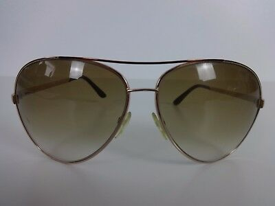 f75fbd9c88e Mens Aviator Sunglasses Tom Ford Charles Pilot Gold Frames Brown Lens TF 35  772