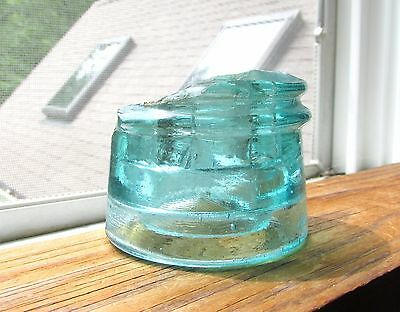 Nice Cd 158.2 Boston Bottle Works Glass Insulator Shard Fragment