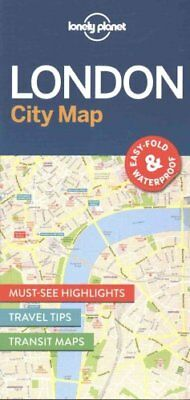 Lonely Planet London City Map by Lonely Planet 9781786574138 (Sheet map, 2016)