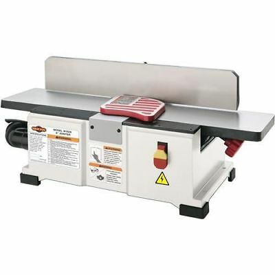 """Shop Fox W1829—6"""" Benchtop Jointer w/ Free Extra Knife Set (New in Box)"""