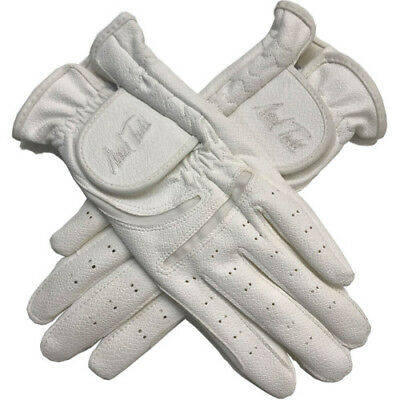 Mark Todd Synthetic Unisex Gloves Competition Glove - White All Sizes