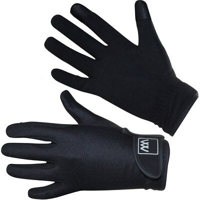 Woof Wear Connect Smartphone Unisex Gloves Everyday Riding Glove - Black