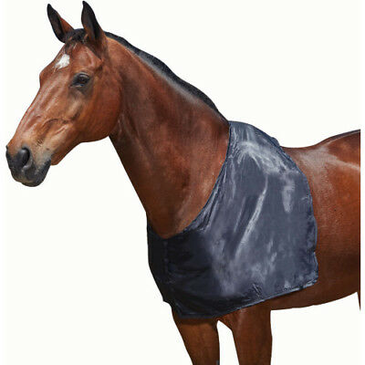 Weatherbeeta Satin Unisex Horse Rug Shoulder Guard - Black All Sizes