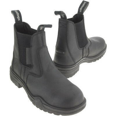 Just Togs Hampton Womens Boots Safety - Black All Sizes