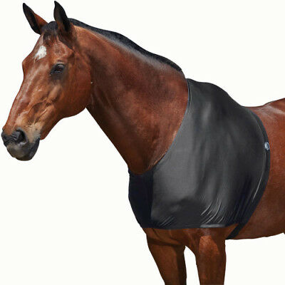 Weatherbeeta Stretch Unisex Horse Rug Shoulder Guard - Black All Sizes
