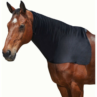 Weatherbeeta Neck Unisex Horse Rug Stretch Hood - Black All Sizes