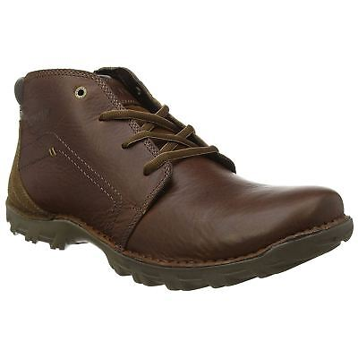 Caterpillar Transform Peanut Mens Leather Lace-up Ankle Work Rugged Boots
