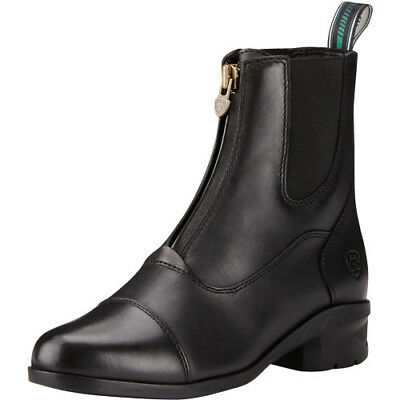 Ariat Heritage Iv Paddock Womens Zip Boots - Black All Sizes