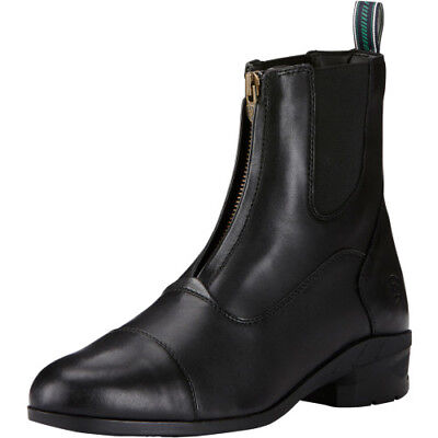Ariat Heritage Iv Mens Zip Boots Paddock - Black All Sizes