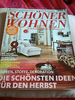 sch ner wohnen kollektion 2013 magazin eur 2 00 picclick de. Black Bedroom Furniture Sets. Home Design Ideas