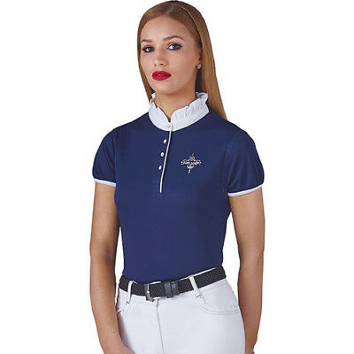 Just Togs Jewel Womens Shirt Competition - Royal Navy All Sizes