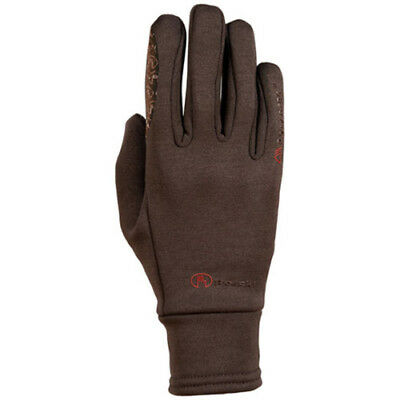 Roeckl Polartec Womens Gloves Everyday Riding Glove - Brown All Sizes