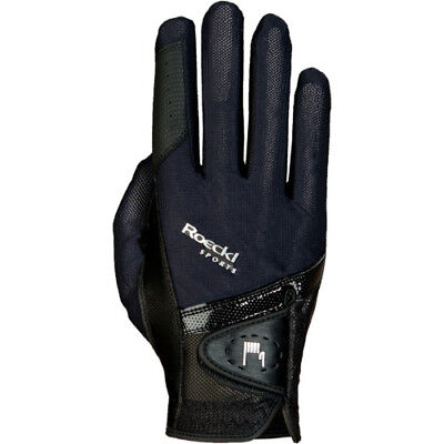 Roeckl Madrid Unisex Gloves Competition Glove - Black All Sizes