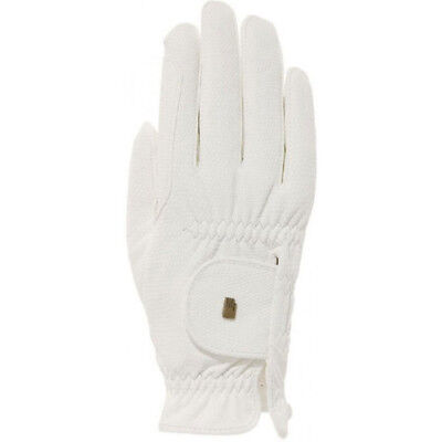 Roeckl Chester Grip Winter Unisex Gloves Competition Glove - White All Sizes