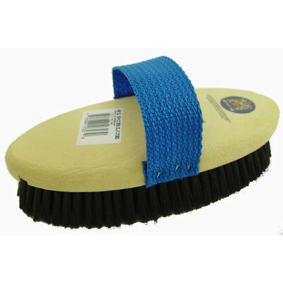 Stablemates Plastic Unisex Horse Care Body Brush - Blue One Size